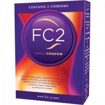 FC 2 Frauenkondome 3 Stück